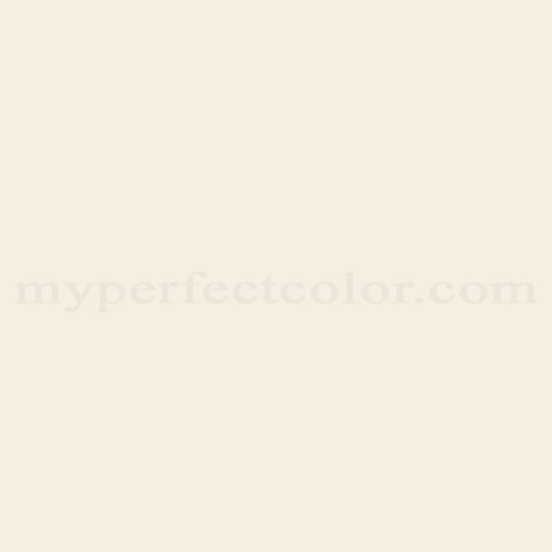 Color Match Of Rodda Paint 899 White Linen
