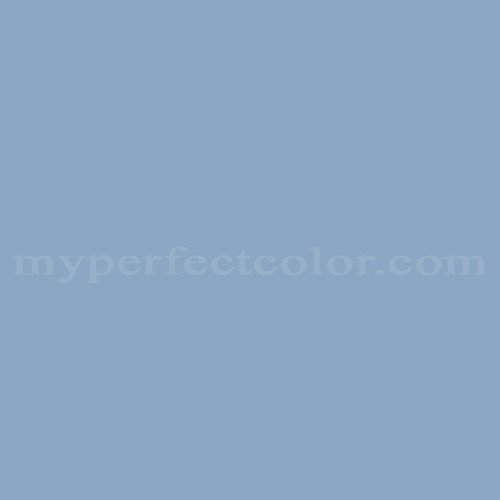 Color Match Of Rodda Paint 487 Country Blue