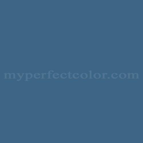 Color Match Of Rodda Paint 517 Regatta Blue