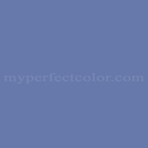Color Match Of Rodda Paint 478 Dusky Blue