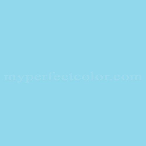 Color Match Of Sico 4038 31 Clear Blue Sky
