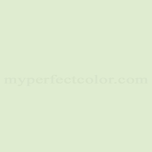 Color Match Of Sico 4011 11 Serene Green