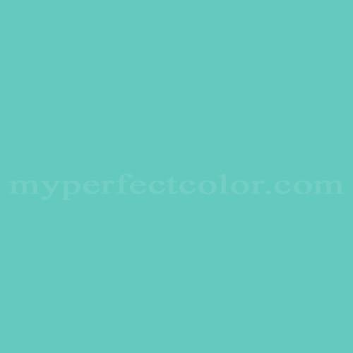Color Match Of Sears Aqua Blue