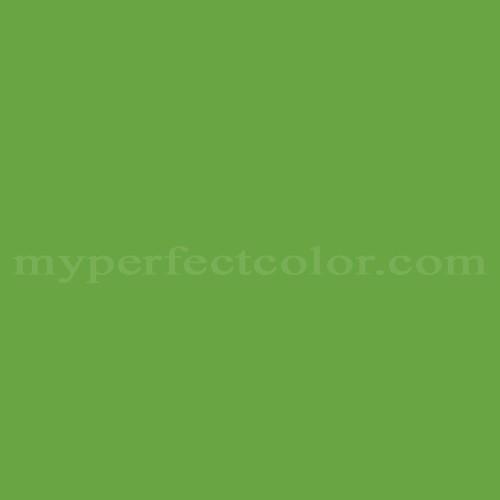 Color Match Of Sears Jungle Green Brt