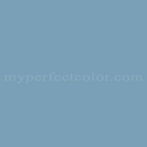 Color Match Of Sears Heron Blue