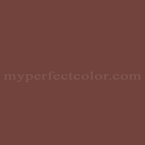 Color Match Of Sherwin Williams SW2294 Carriage Door