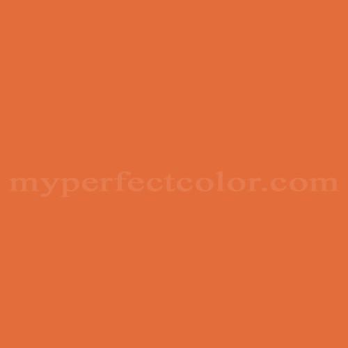 Tangier Orange Paint Pantone Color
