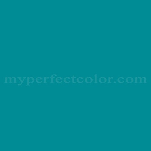 Color Match Of Sherwin Williams Sw6947 Tempo Teal