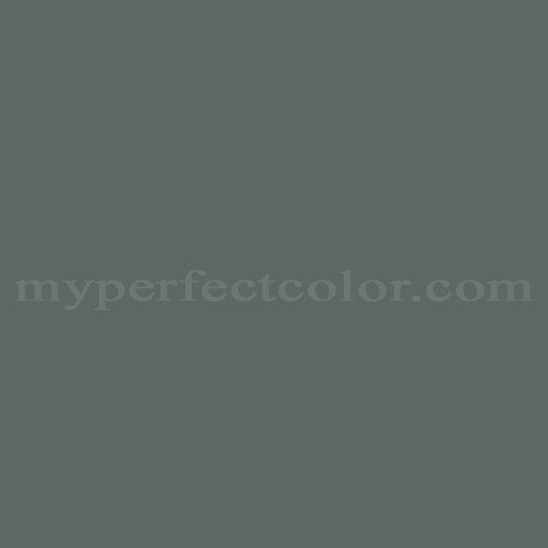 Color Match Of Sherwin Williams Sw2251 Charcoal Green