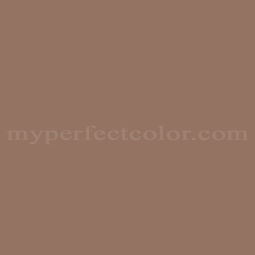 Color Match Of Sherwin Williams Sw2166 Coffee House