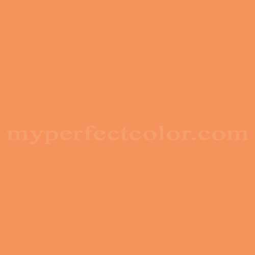 Color Match Of Sherwin Williams Sw1636 Aztec Orange