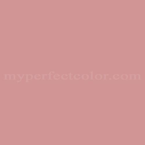 Old Rose Solid Color White Stripes Pattern Wallpaper