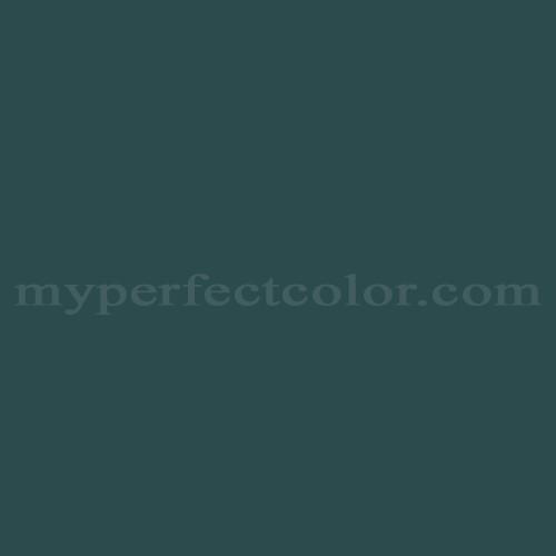 Color Match Of Ameritone Devoe 2c13 6 Charcoal Green