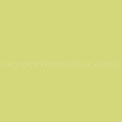 Color match of Ameritone Devoe 5C15-3 Yellow Green*