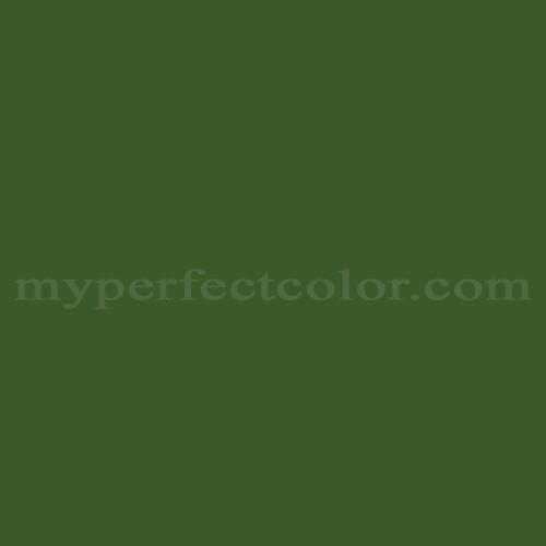 Color Match Of Australian Standards G14 Moss Green