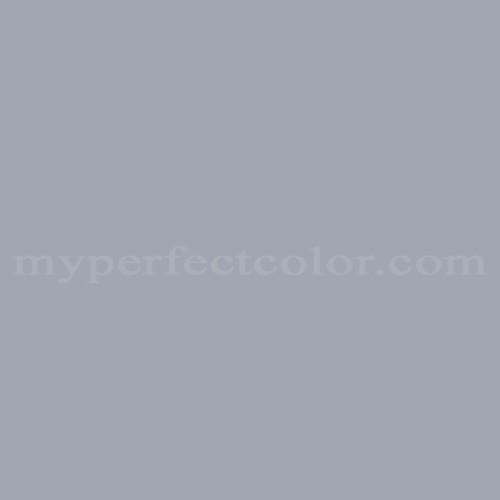 Color match of British Paints 2968 Blue Grey*