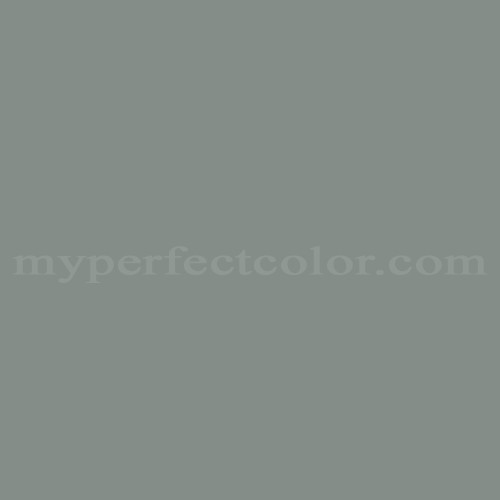 Color Match Of British Paints Grey Green