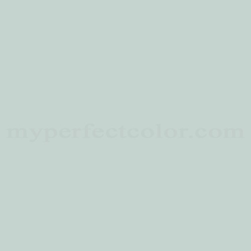 Color Match Of British Paints 2509 Serene Green