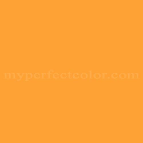Color Match Of Behr 4c4 3 Yellow Orange