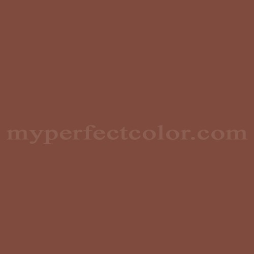 Color Match Of Behr 368 Navajo Red