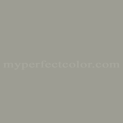 Color Match Of Behr 311 Harbor Gray