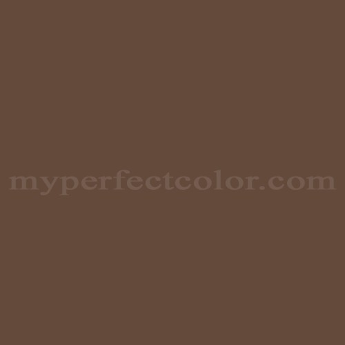Color Match Of Behr C60 55 Cocoa Brown