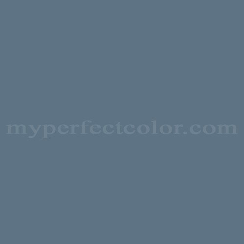 Color Match Of Behr 5640 Colonial Blue