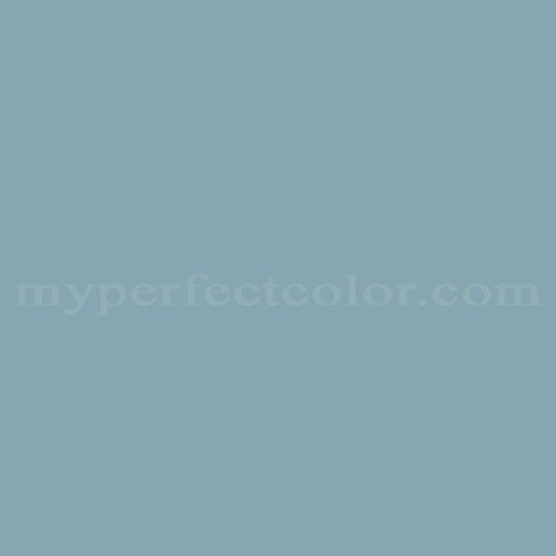 Color Match Of Behr 1548 Country Blue