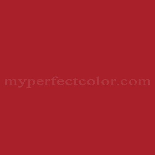 Color Match Of Behr 8371 Candy Le Red