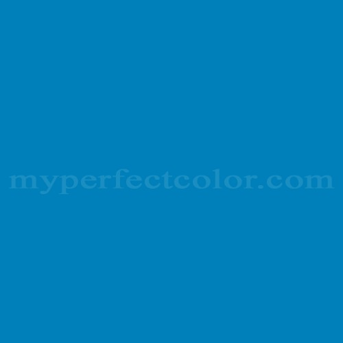 Color Match Of Guild 7076a Neon Blue
