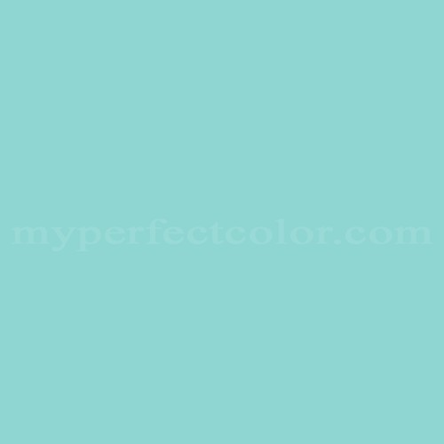 Color Match Of Clairtone 8463 8 Caribbean Blue