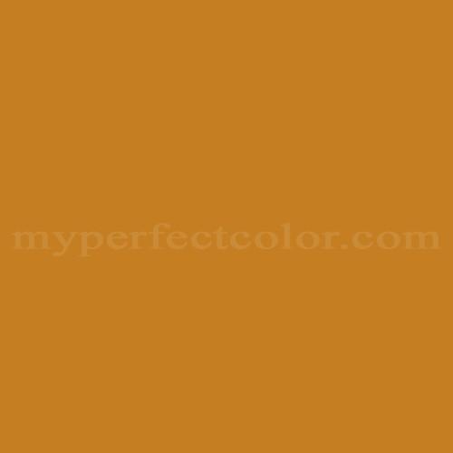 Pantone Seasonal Color Swatch Golden Brown