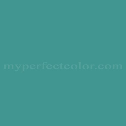 Color Match Of Coronado Paints T 10 3 Dark Turquoise