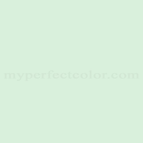 Color Match Of Your World 90gy83 130 Serene Green