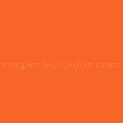 Amazing Color Match Of Color Your World 56YR28/778 Red Orange*