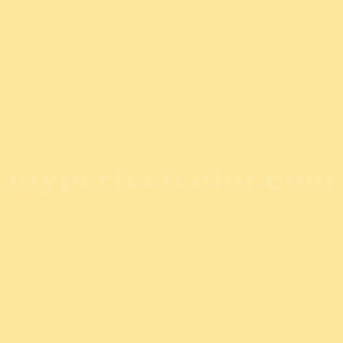 Color Your World Wb1352 Spring Yellow Match Paint Colors