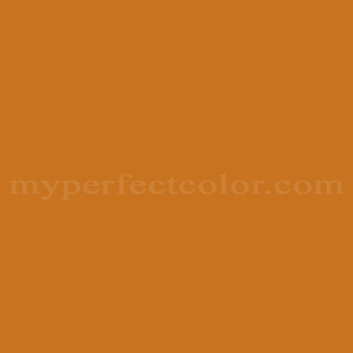 Color Match Of Devoe And Fuller 4wa23 3 Earthy Orange
