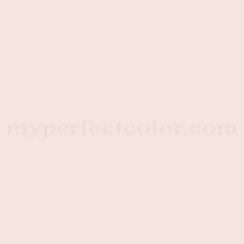 Match of Devoe and Fuller™ 1W8-4 Minimal Pink *