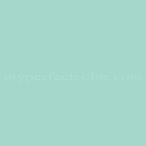Color Match Of Devoe And Fuller 4c14 3 Jade Light