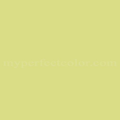 Match of Devoe and Fuller™ 5C16-3 Yellow Sage *