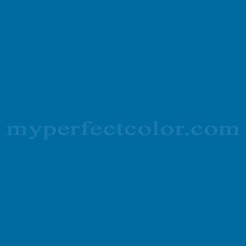 Match of Devoe and Fuller™ 3CA25-6 Ceylon Blue *