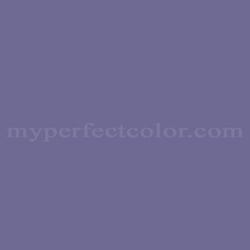 Match of Devoe and Fuller™ 3CA27-6 Purple Silhouette *