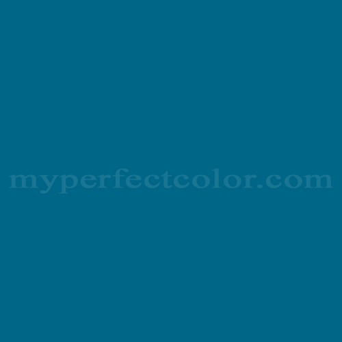 Match of Devoe and Fuller™ 4C7-6 Aleutian Blue *