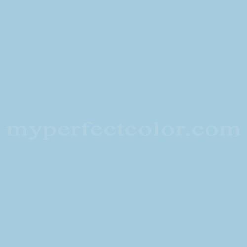 Color Match Of Devoe And Fuller 4c8 3 Tiffany Blue