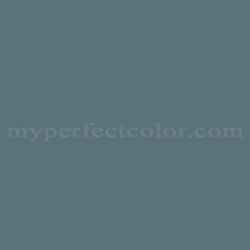 Color Match Of Duron 5484d Blue Slate