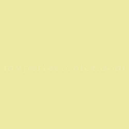 Color Match Of Duron 4670w Celery Green
