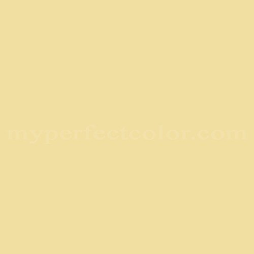 Match of Dal Worth Paints™ 1-7T Yellow Grass *
