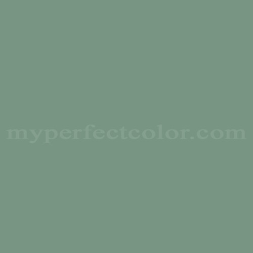 Match of Dal Worth Paints™ 30-14D Forest Shade *