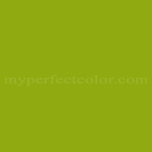 Color Match Of Dulux Yellow Green
