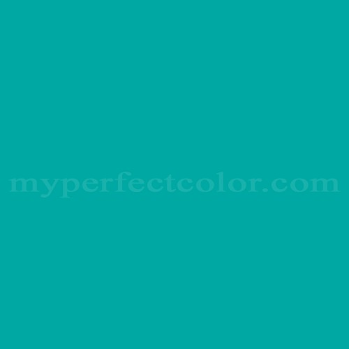 Match of Dulux™ Turquoise Green *